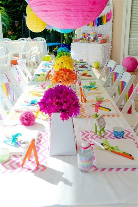 Garten Geburtstagsparty Deko by Wunderbare Tischdeko Zum Kindergeburtstag Archzine Net