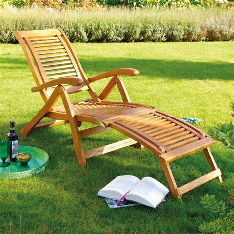 bureau en teck chaise longue jardin photo 9 20 chaise longue jardin