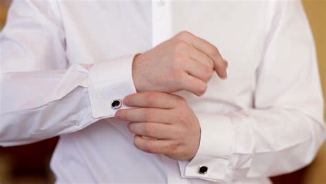 pleated cuff white shirt cufflinks custom shirt