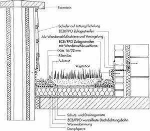 Drainage Hauswand Aufbau : gr nes dach detail a 5 ~ Whattoseeinmadrid.com Haus und Dekorationen