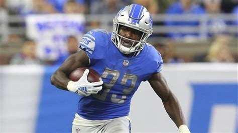 scouting report  lions rookie running  kerryon