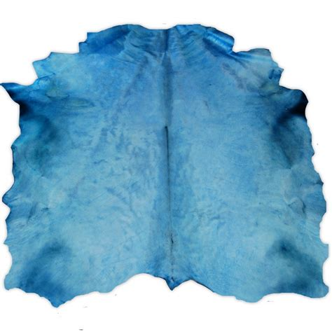 Blue Cowhide Rug by Turquoise Dyed Contemporary Large Cowhide Rug Fur Home