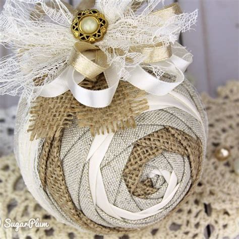 Shabby Chic Ornamente by Shabby Chic Ornament Using The Iris Pattern By
