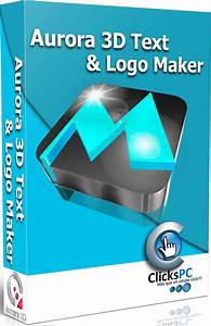 Aurora 3d Text And Logo Maker 2014 Free Download With