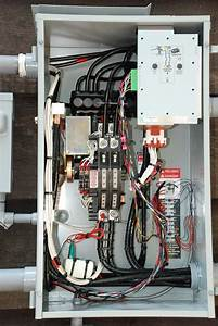 The Ac Power And Emergency Generator System At W5jgv Wiring Diagram