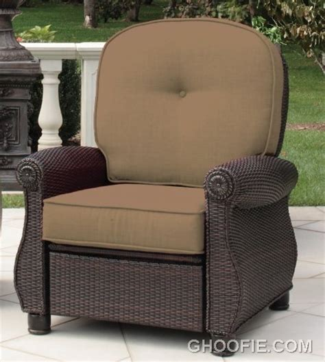 reclining outdoor furniture breckenridge recliner sand by la z boy outdoor interior