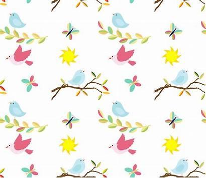 Pattern Birds Bird Background Seamless Domain Needpix