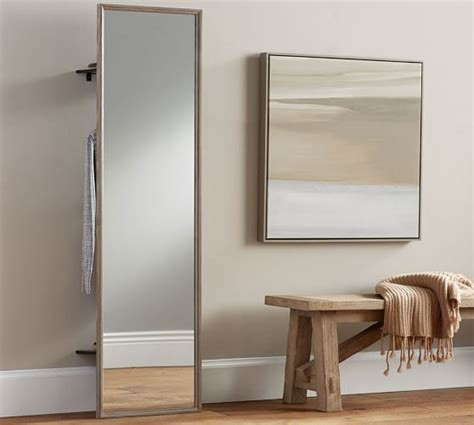 floor mirror pottery barn clothing rack with floor mirror pottery barn