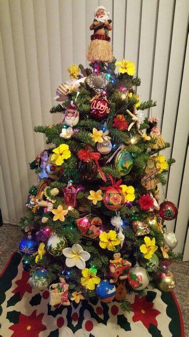 hawaiian designer christmas ornaments my hawaiian tree aloha from hawaii