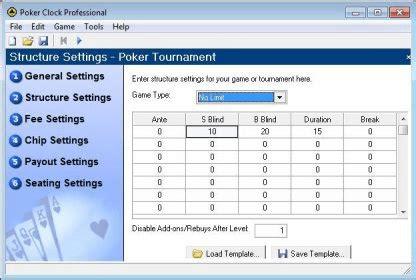 poker clock professional    trial
