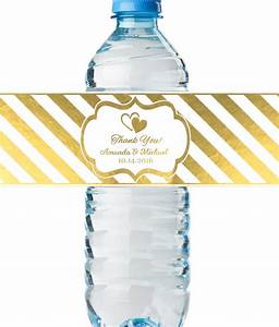 custom water bottle labels real metallic print lowest With custom printed bottle labels