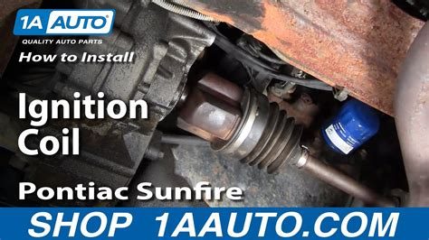 98 Cavalier Fuel Filter Removal by How To Replace Ignition Coil 95 02 Pontiac Sunfire