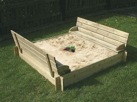 Sandkasten Aus Holz Pu91 Hitoiro