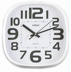 Horloge Murale Blanche : catgorie horloges pendule et comtoise page 3 du guide et ~ Teatrodelosmanantiales.com Idées de Décoration