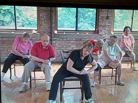 seated lower back exercise for seniors
