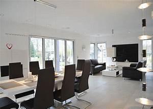 Wohn Und Esszimmer Optisch Trennen : streif haus frankfurt hausbau leicht gemacht mit einem fertighaus von streif haus ~ Markanthonyermac.com Haus und Dekorationen