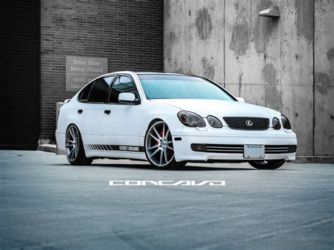 custom lexus custom lexus gs400 on custom concavo cw s5 sitting clean
