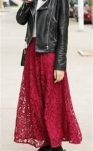 Skirt maxi skirt clothes red dress outfit outfit idea tumblr girl girly fashion bra ...