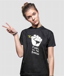 Cooles T Shirt : power to the peaceful t shirt by allriot anti war t shirts ~ A.2002-acura-tl-radio.info Haus und Dekorationen