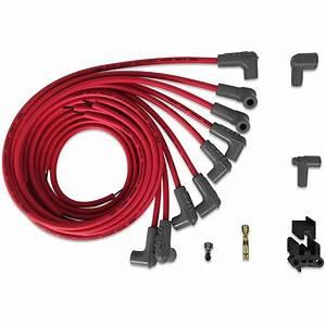 Msd 31229 Super Conductor Spark Plug Wire Set  8 Cyl 90