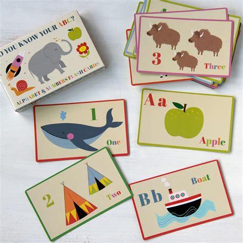 kitchen set jumbo set of 36 alphabet and number flash cards dotcomgiftshop