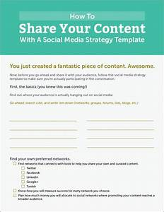 Free 5  Social Media Strategy Samples  U0026 Templates In Word