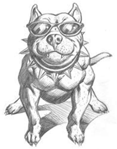 13 best images about Pit Bull color pages on Pinterest | Caricatures, Free printable coloring