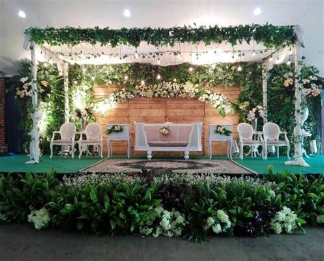 dekorasi pernikahan unik sederhana  elegan terbaru