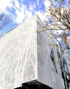 Expanded Metal Mesh Facade Casa Furniture Istanbul