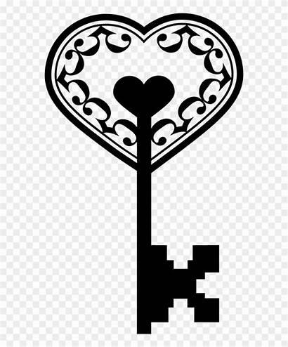 Key Heart Clipart Pinclipart