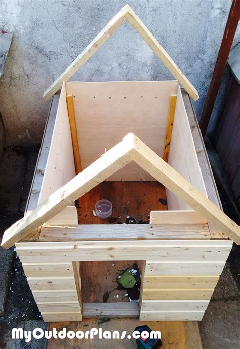 diy insulated dog house myoutdoorplans