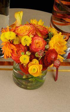 1000 images about alyssa b orange and yellow wedding ideas on ranunculus dahlias