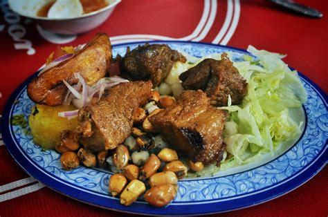 cuisine typique assiette typique d 39 equateur banos en equateur