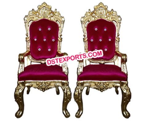 wedding groom chairs decor furnitures indian