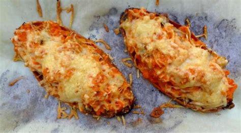 cuisiner la patate douce au four recette de la patate douce farcie aux chignons
