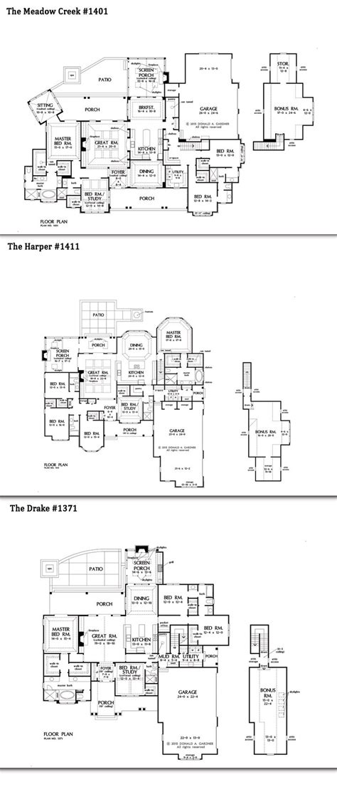 images   story home plans  pinterest