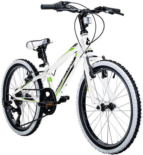 fahrrad kinder 24 zoll bergsteiger kinderfahrrad jungen 187 kansas 171 20 24 zoll 6 v bremsen kaufen otto