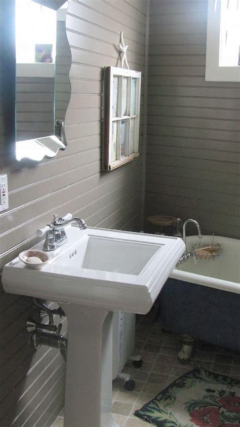 horizontal beadboard beadboard bathroom simple bathroom