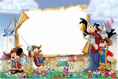Disney Frame Transparent Musketeers Three Frames Clipart