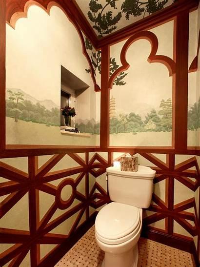 Bathroom Asian Pastoral Hgtv Dp