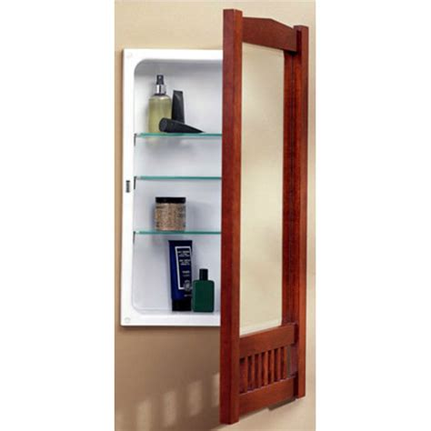 mission framed bathroom cabinet by jensen formerly broan