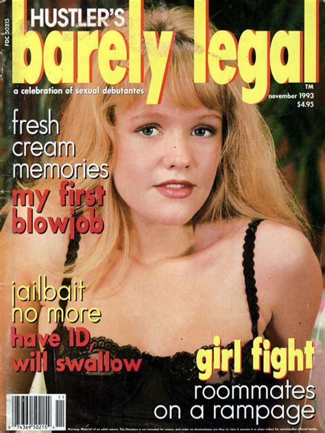 Barely Legal November 1993 Magazines Archive