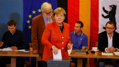 Angela Merkel's Conservative Party Wins General Election