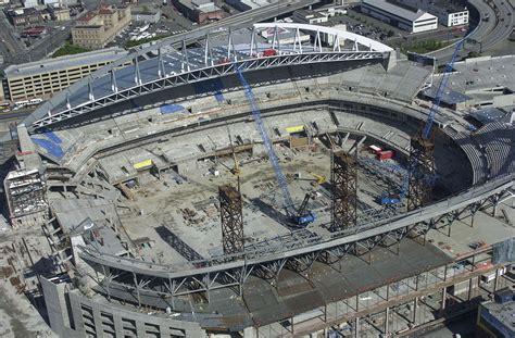 fileqwest field seahawks stadium  construction