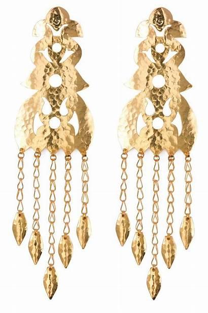 Gold Earrings Hammered Natori Metallic Jewelry Lyst