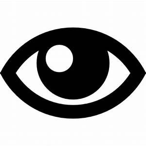 Eye outline Icons   Free Download
