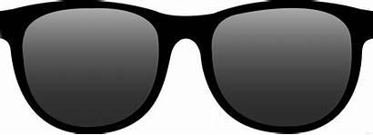 Clipart Glasses Sun Sunglasses Shite Clip Clipartblack