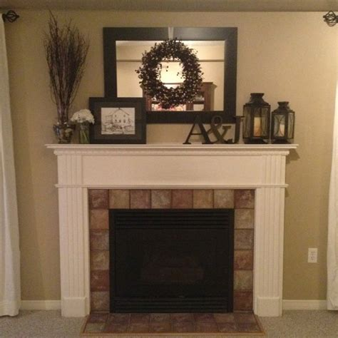 51 Best Mantel Decorating Images On Pinterest  Home Ideas