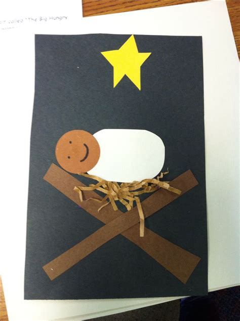 baby jesus craft for preschoolers baby jesus craft ideas 401