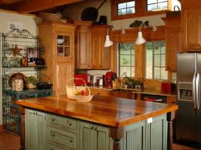 Islands For Kitchen Country Kitchen Islands Hgtv